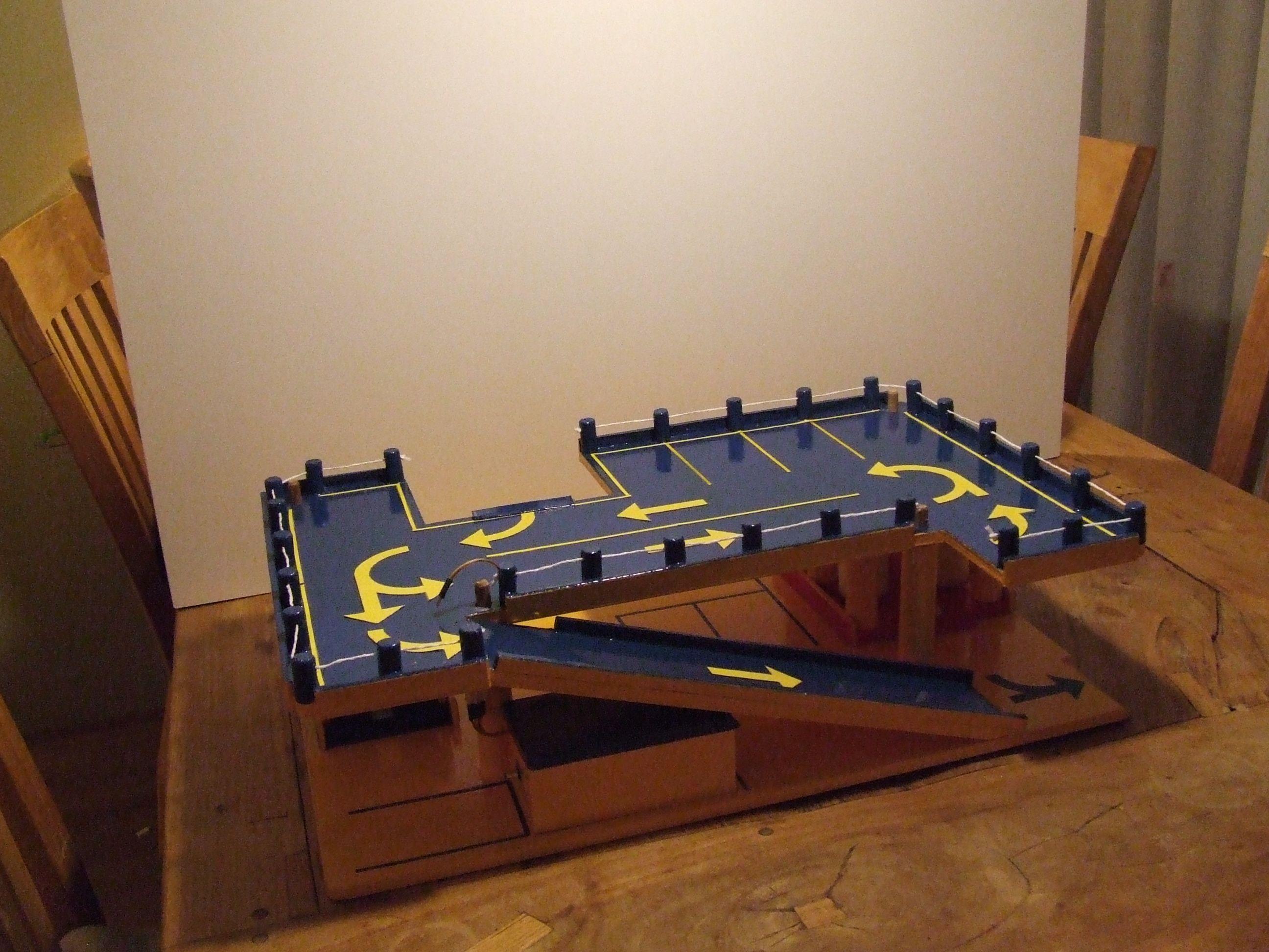 build up 9th stage | Wooden Toy Garage | Pinterest