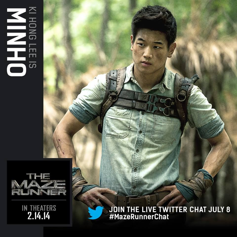 maze runner movie character card minho shank like you