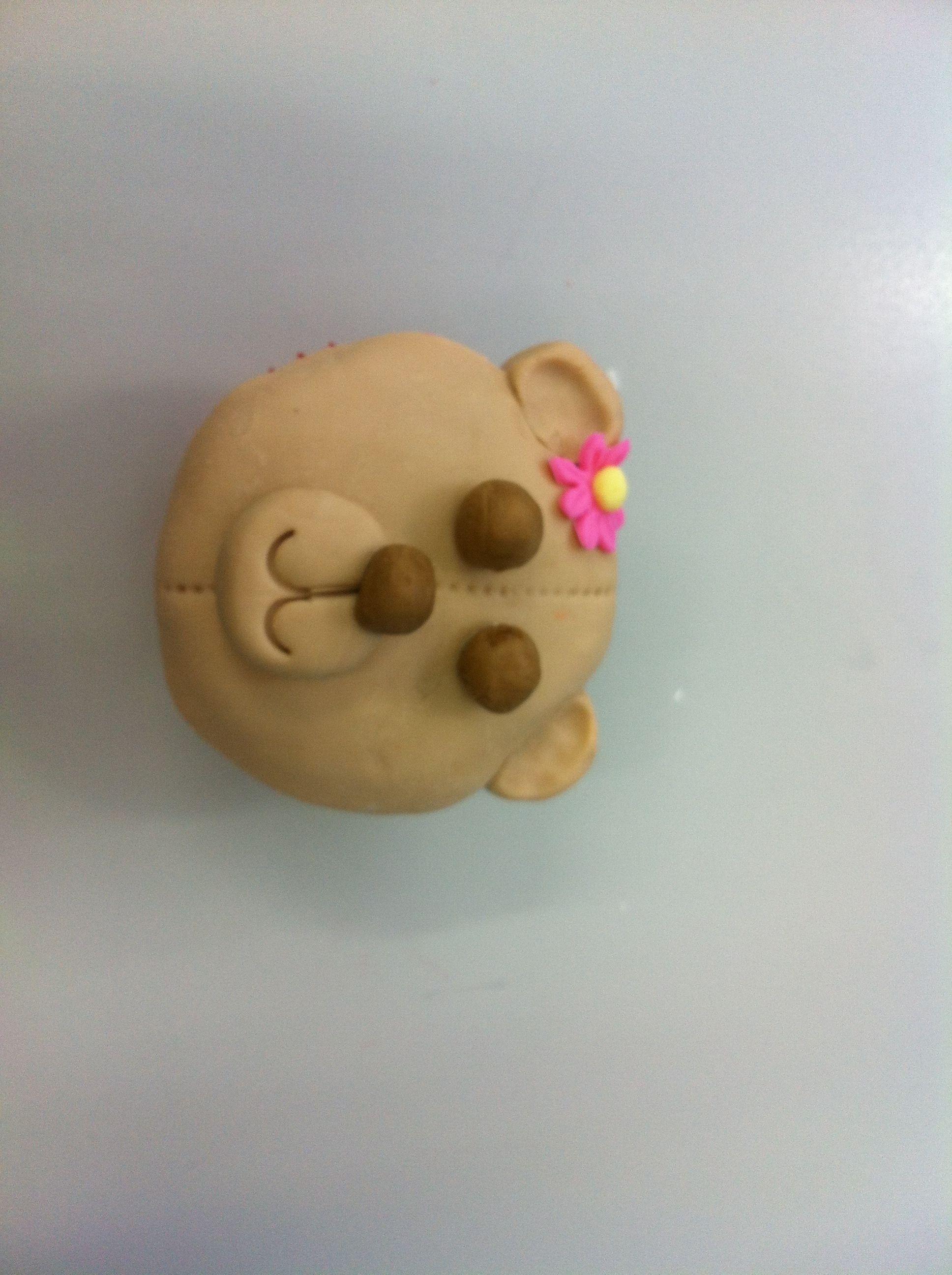 Teddy Bear cupcake   Cute Animal Cupcakes   Pinterest