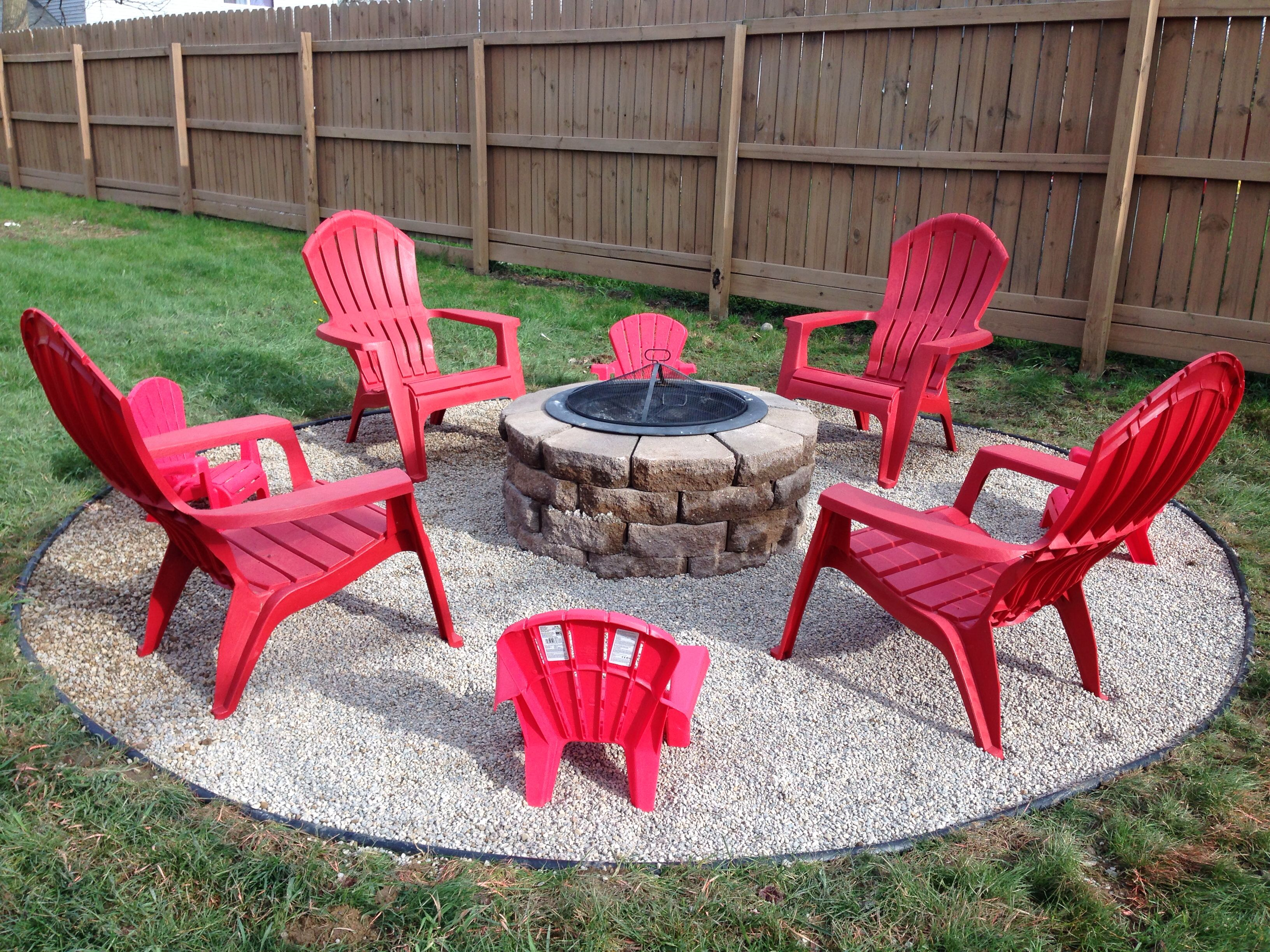 My awesome diy fire pit project home decor pinterest for Fire pit project