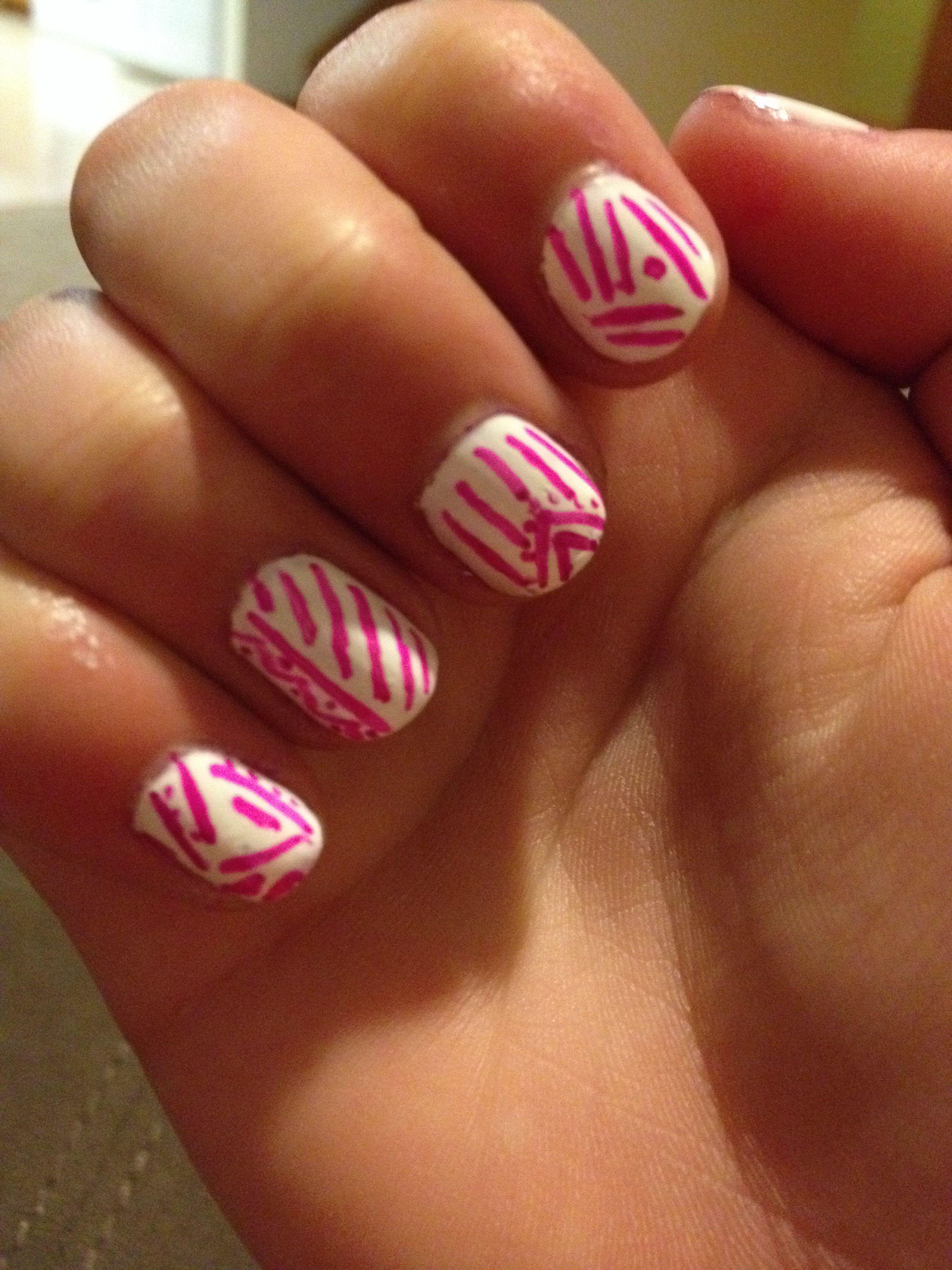 Sharpie nail art  My Style  Pinterest
