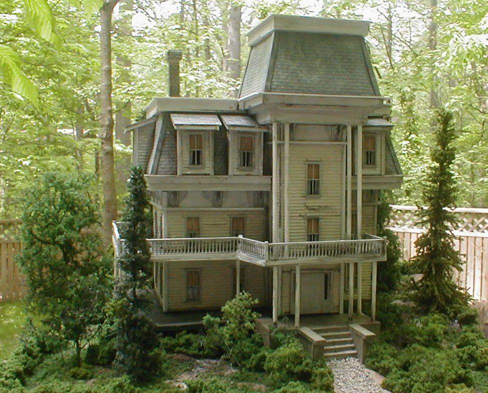 Mansard Roof Dollhouse Restoration Reference Pinterest