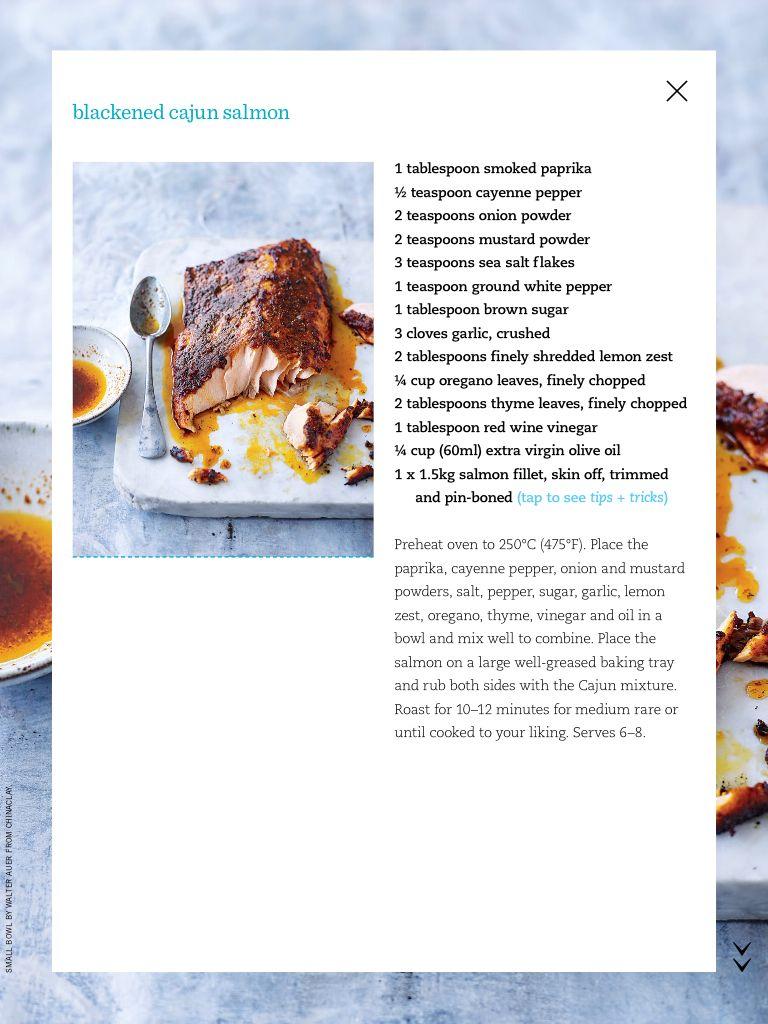 Blackened Cajun Salmon | Savoury | Pinterest
