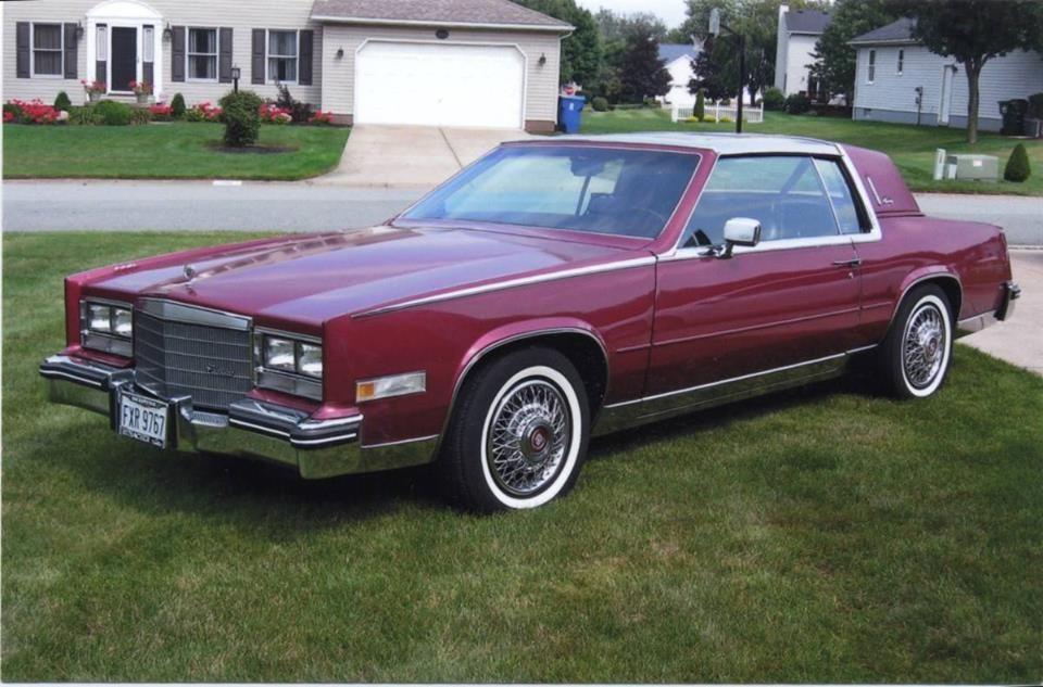 1985 cadillac eldorado biarritz cars pinterest. Black Bedroom Furniture Sets. Home Design Ideas