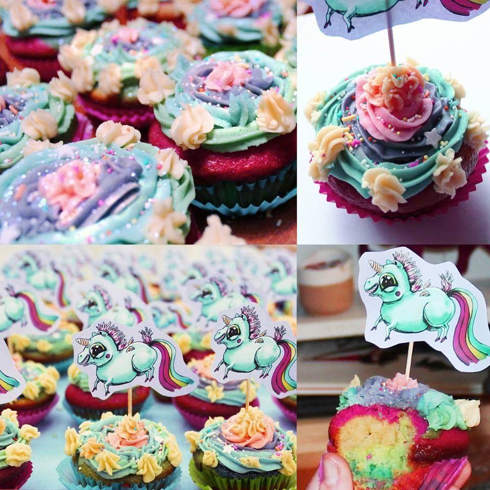 Unicorn poop cupcakes haha   Cooking Inspiration (because anyone … Unicorn Poop Cupcakes