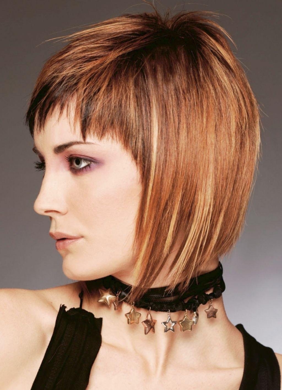 Как самой себе подстричь волосы - боб и каре фото стрижек 20