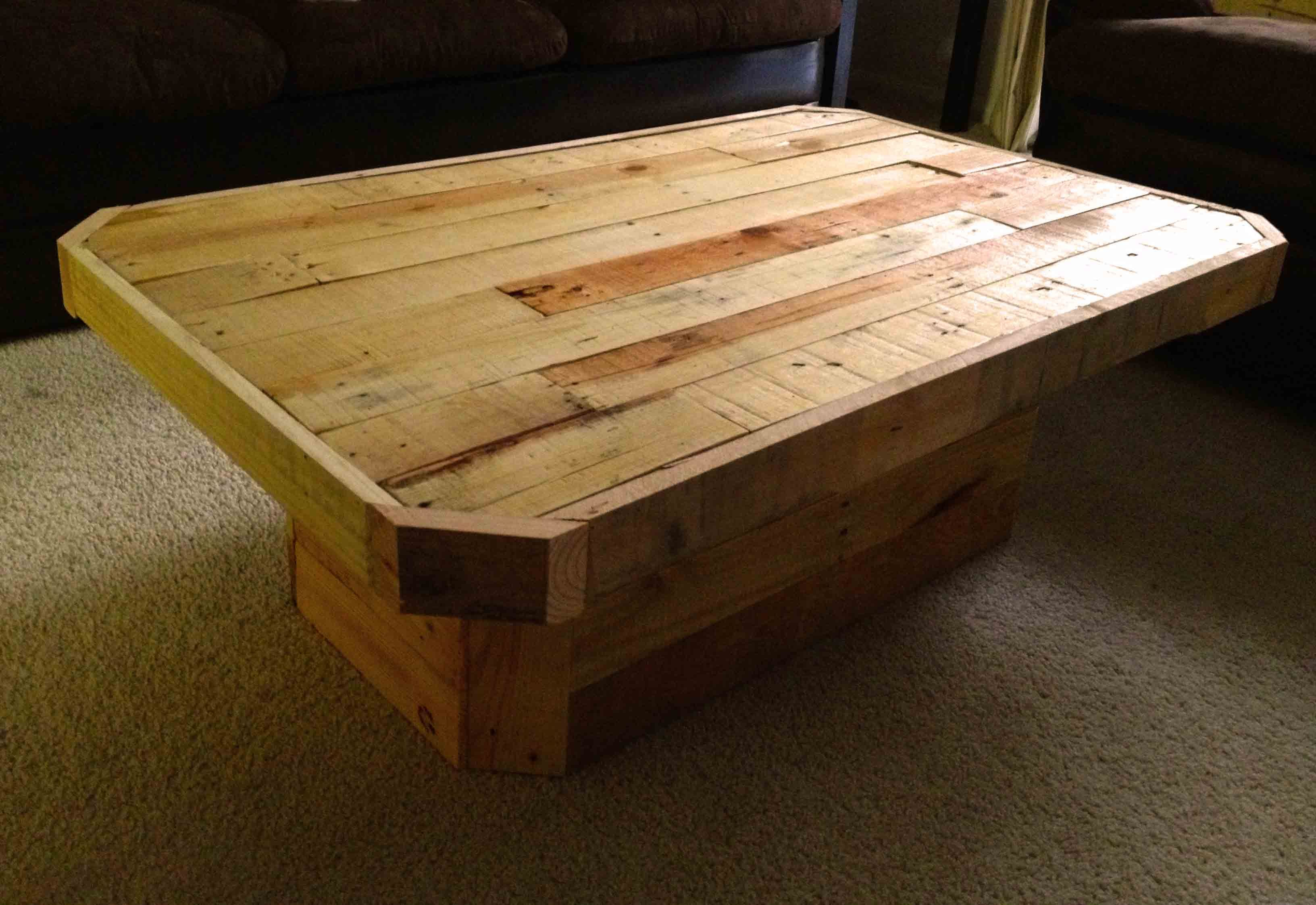 pallet coffee table pallet ideas pinterest