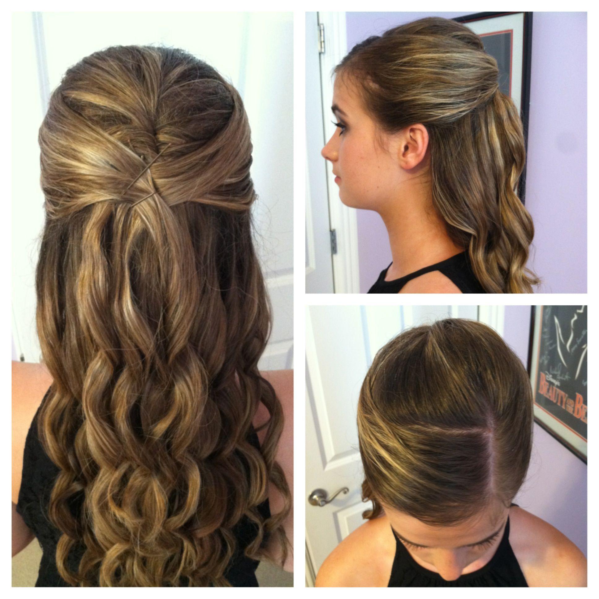 Teen Pageant Hair