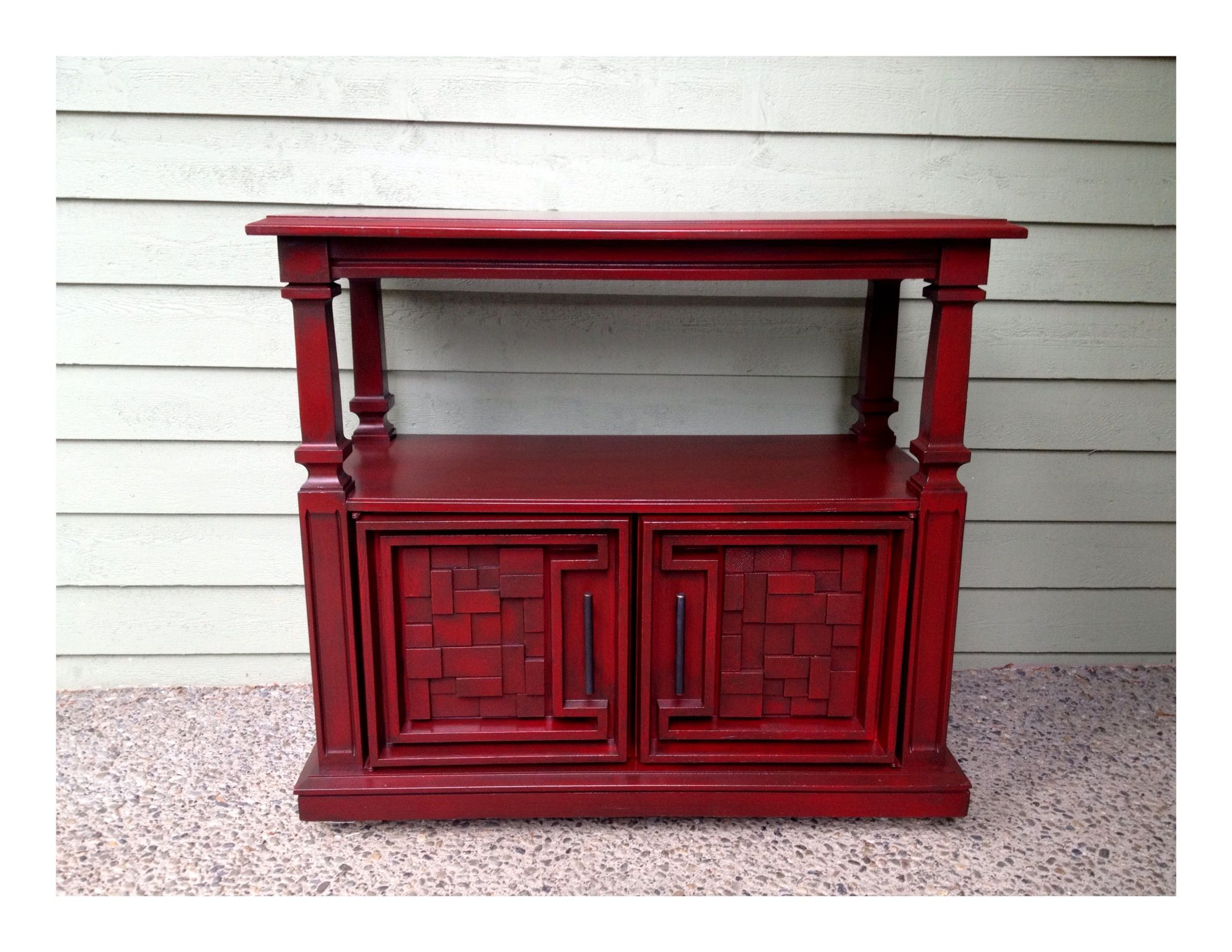 Upcycled cabinet diy inspiration pinterest for Upcycled kitchen cabinets