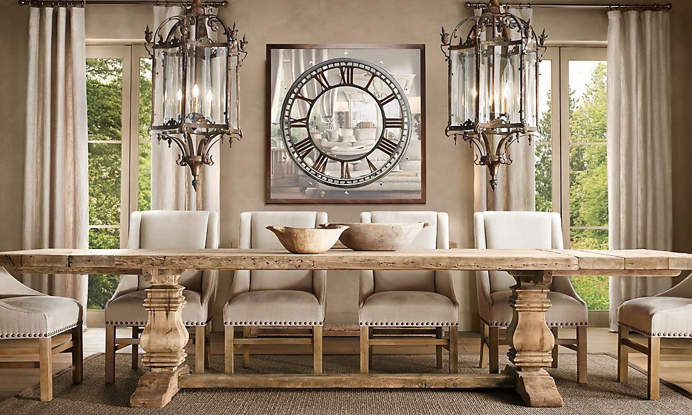 Restoration Hardware Dining Room Interior Design Pinterest
