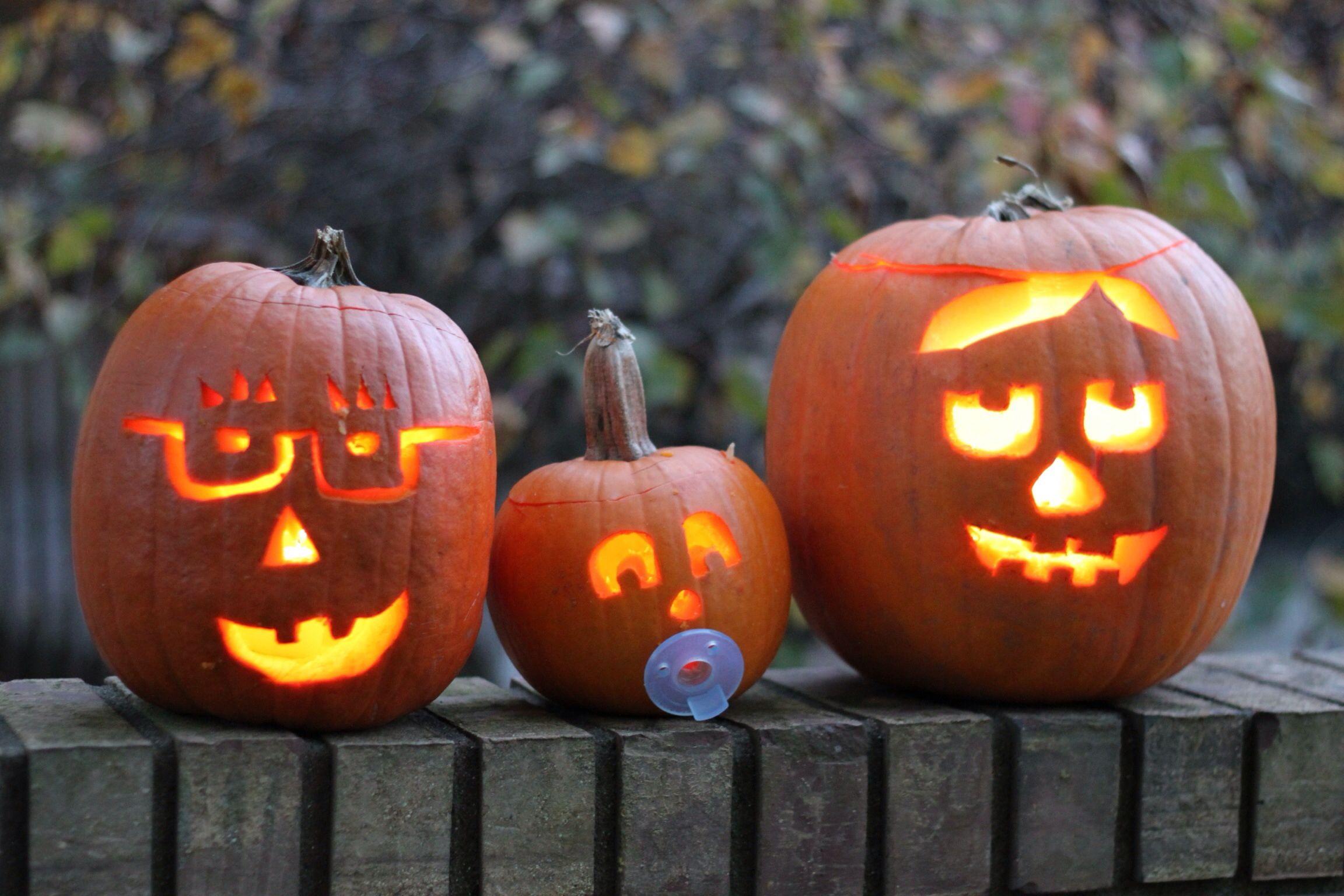 Halloween pumpkin easy designs