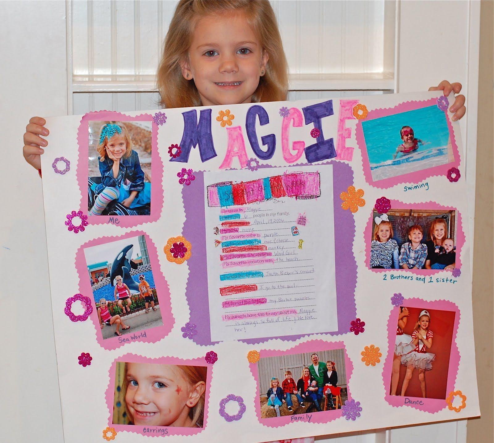 Star of the week poster idea : School : Pinterest