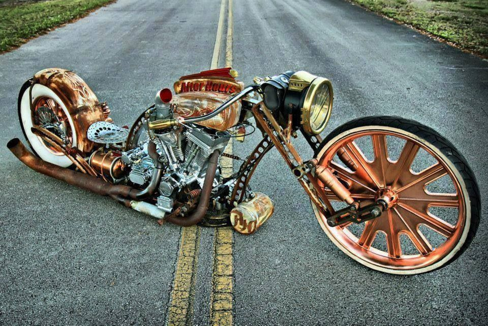 Steampunk Motorcycle Paint Job