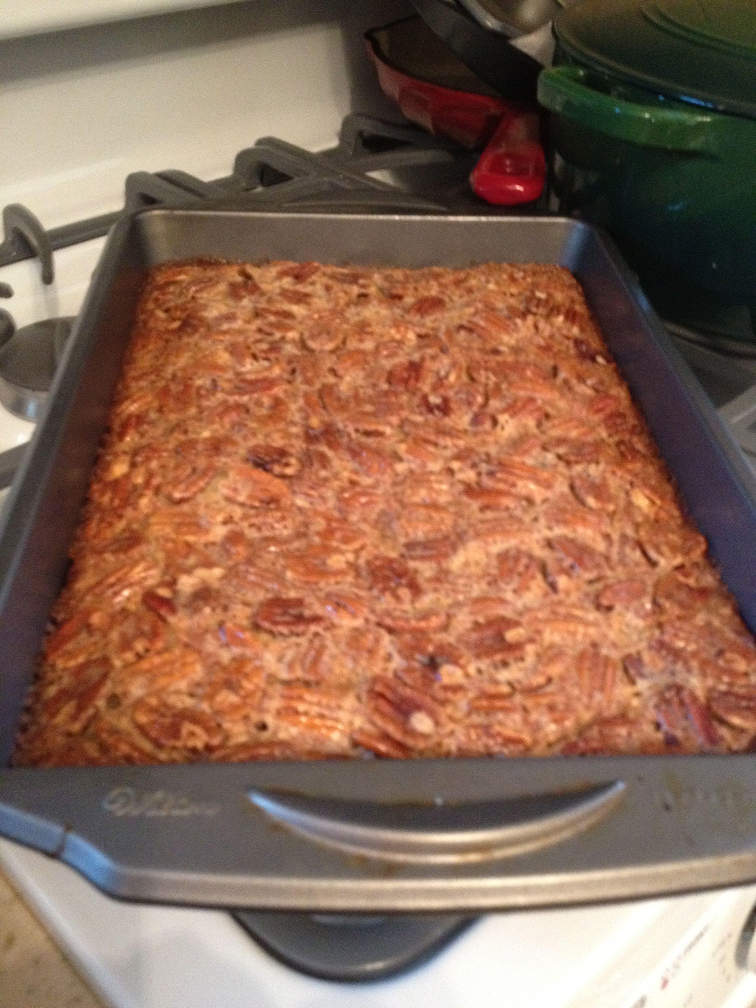 Pecan Pie Shortbread Bars | Yummy to my tummy | Pinterest