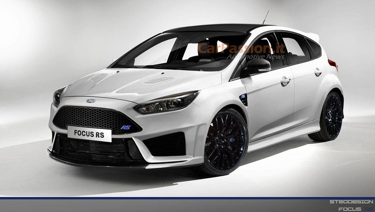 White 2017 ford focus st