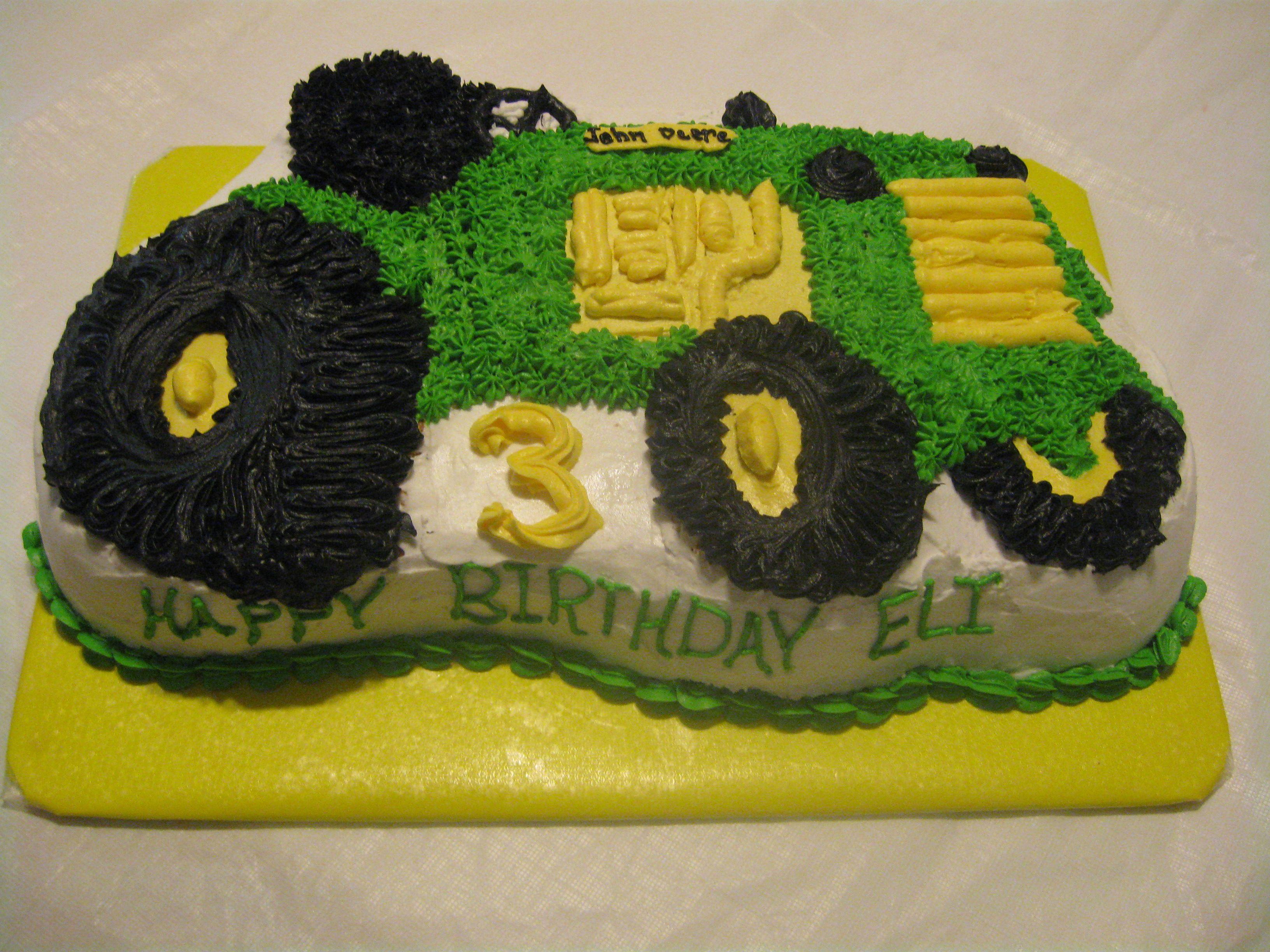 Birthday Cake John Lewis : Pin Pin John Deere Tractor Cake Pink 1st Birthday Entire ...