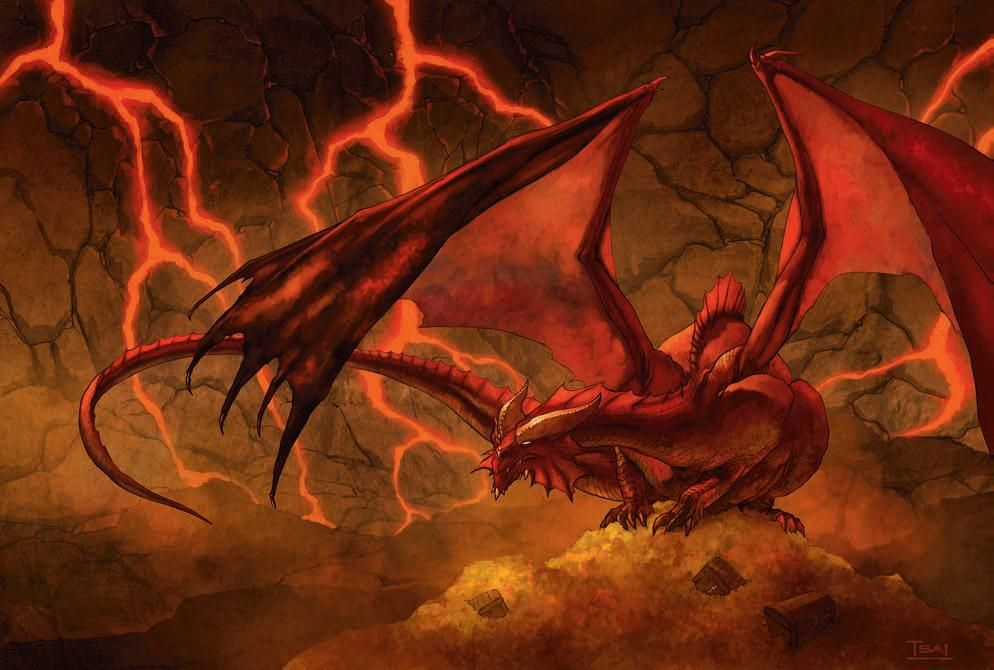red fire dragon - photo #10