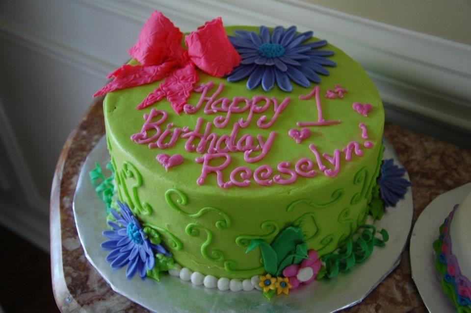 birthday cakes tinkerbell theme