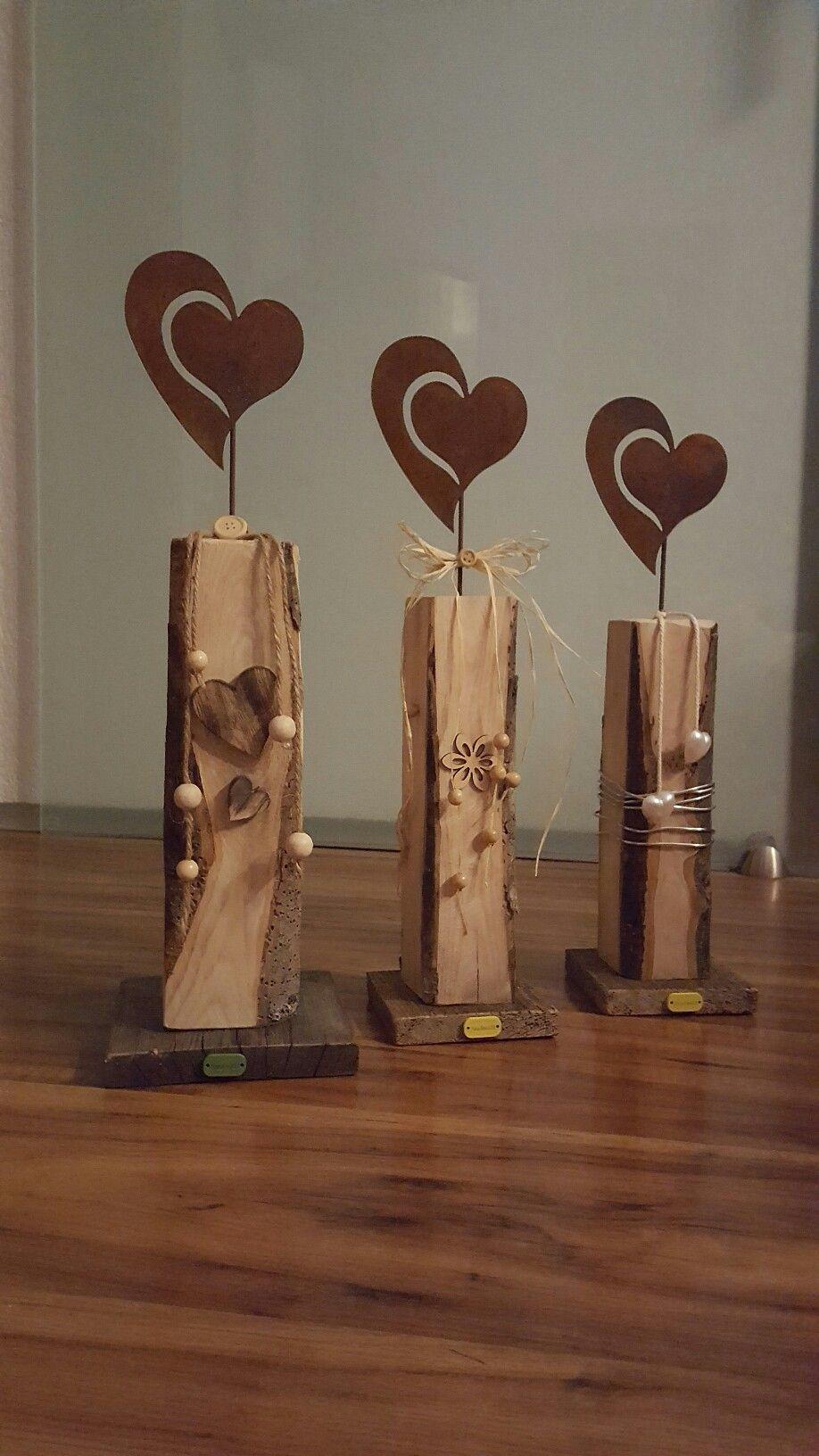 Holzdeko Herz | Kreatives aus Holz | Pinterest | Holz, Holzdeko ...