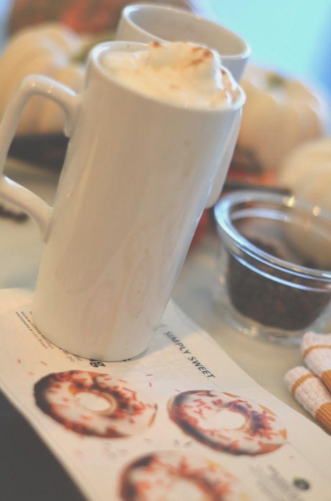 Skinny Pumpkin spiced latte recipe | Indulgin' | Pinterest