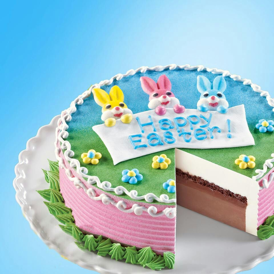 Dairy Queen Design A Cake : Dairy Queen cake easter Pinterest