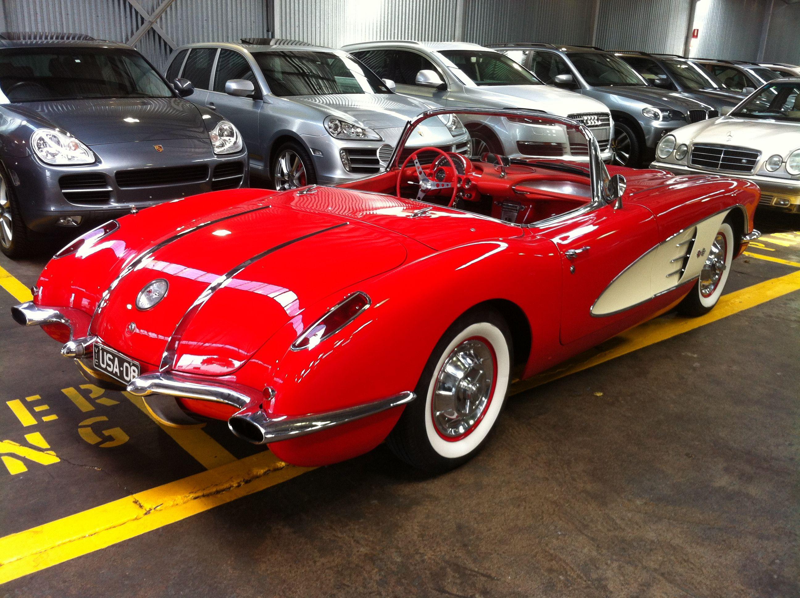 58 Corvette Cool Corvettes