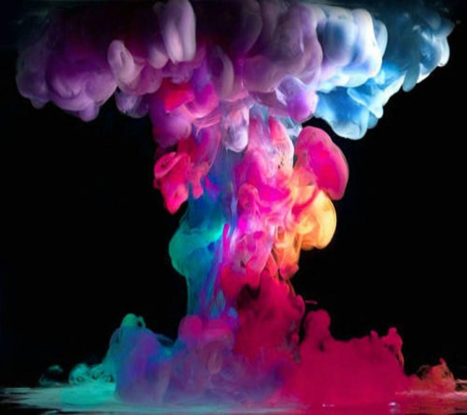 Rainbow smoke rainbow colors pinterest for Wallpaper en movimiento