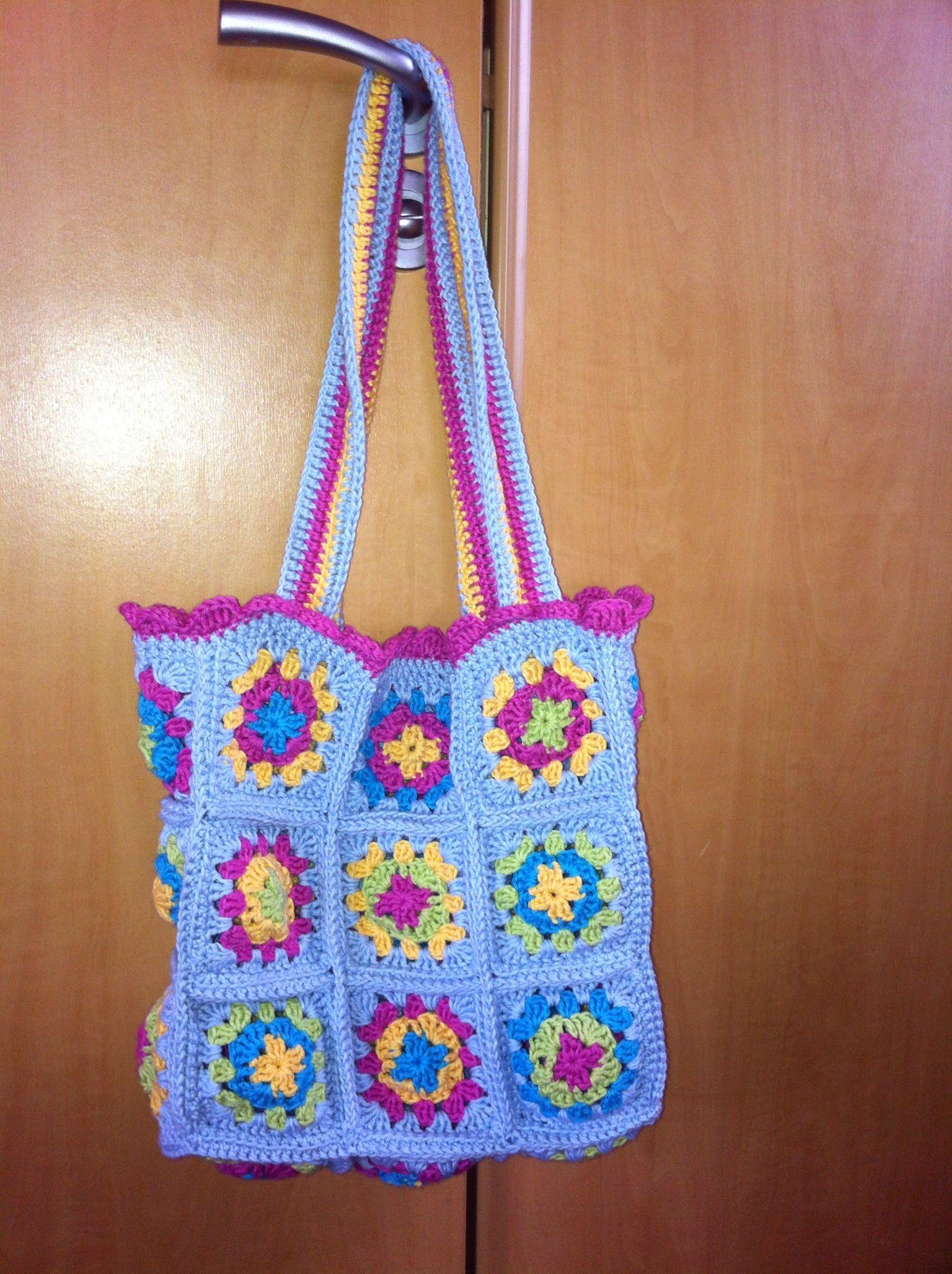 Crochet bag from cute and easy crochet. Crochet Pinterest