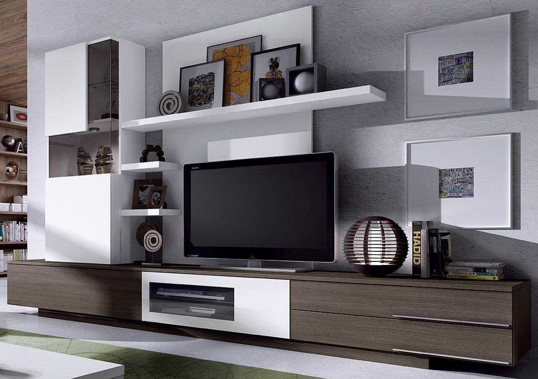 Mueble de salon wengue barcelona
