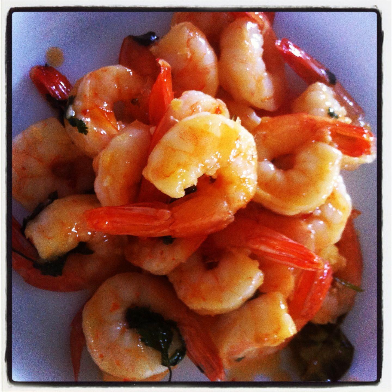 Thai Lemon Coconut Shrimp | yummm :) | Pinterest
