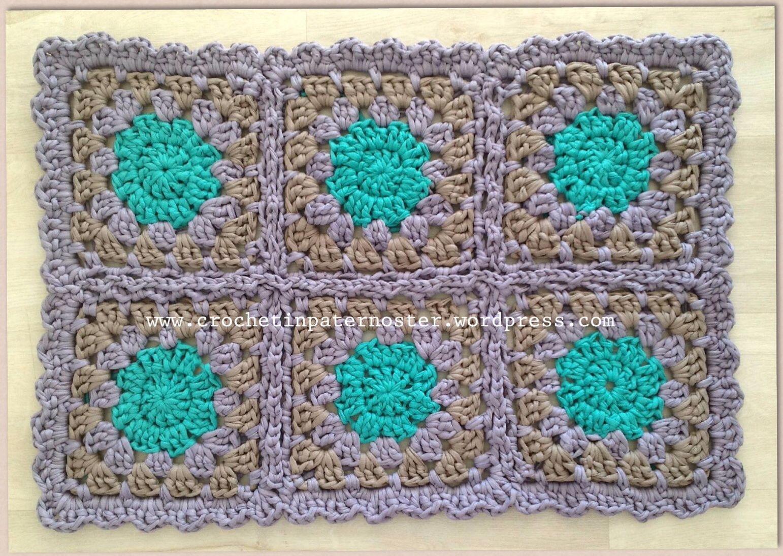 Crochet Granny Square Rug Patterns : granny square rug Crochet patterns Pinterest