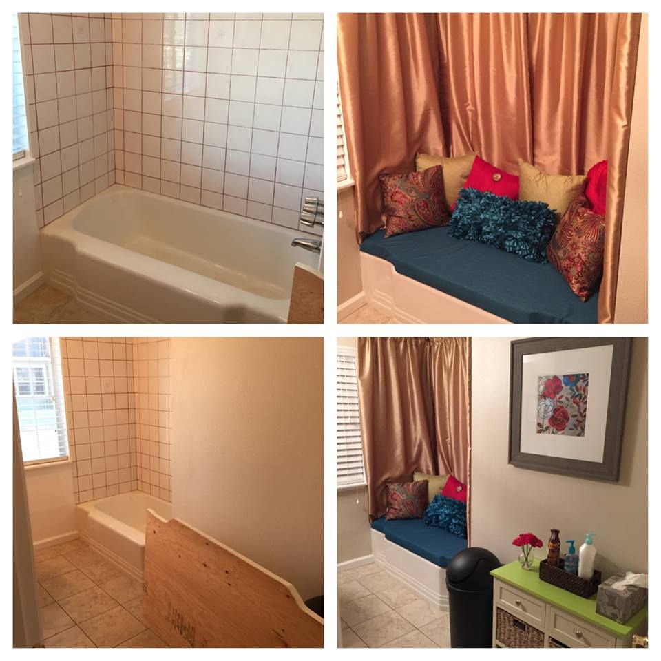 1000 images about diy bathtub unused as a bench bathroom approximate cost to convert tub walk in shower