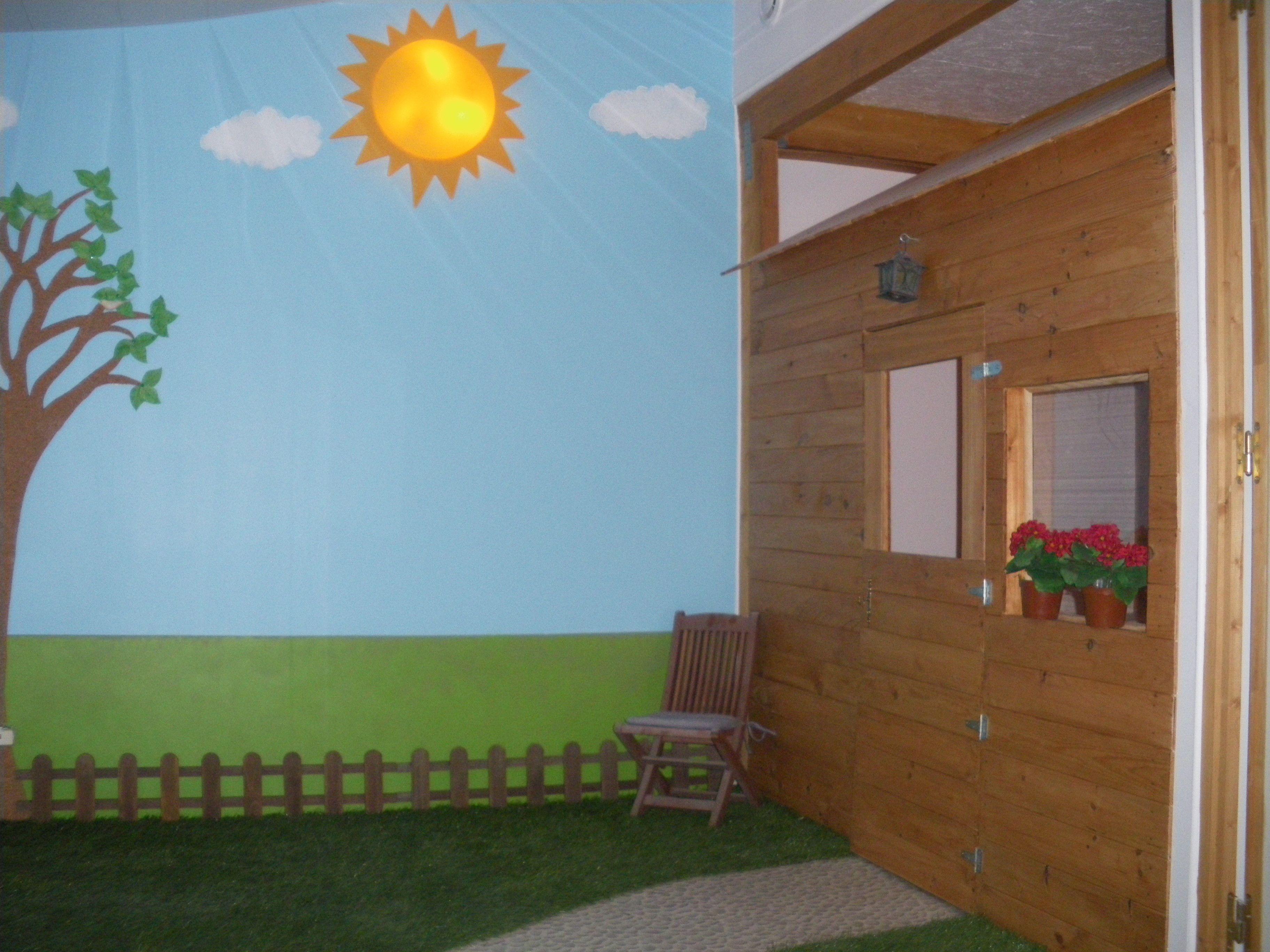salle de jeu jardin id es creations pour enfants pinterest. Black Bedroom Furniture Sets. Home Design Ideas