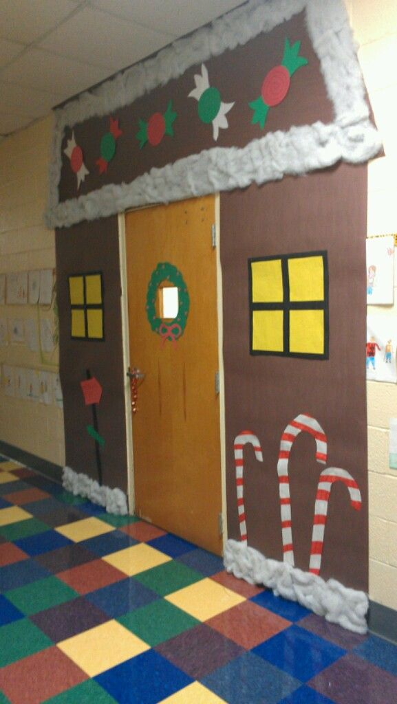 Classroom Winter Decor : Winter classroom door decoration st to nd grade