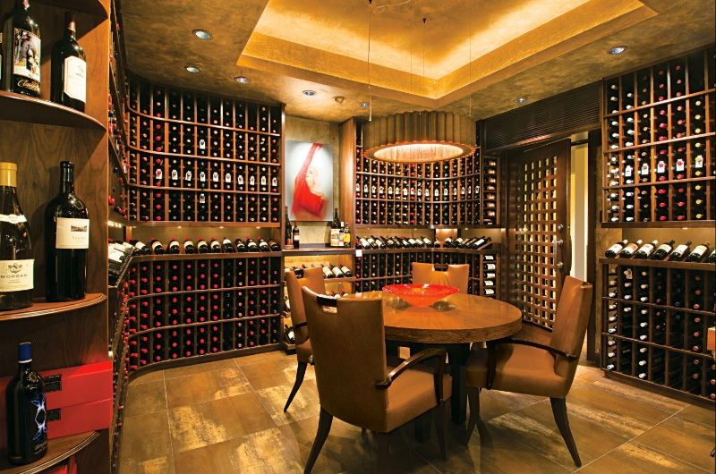 Luxury Wine Cellar Design Home Wine Cellar Designs