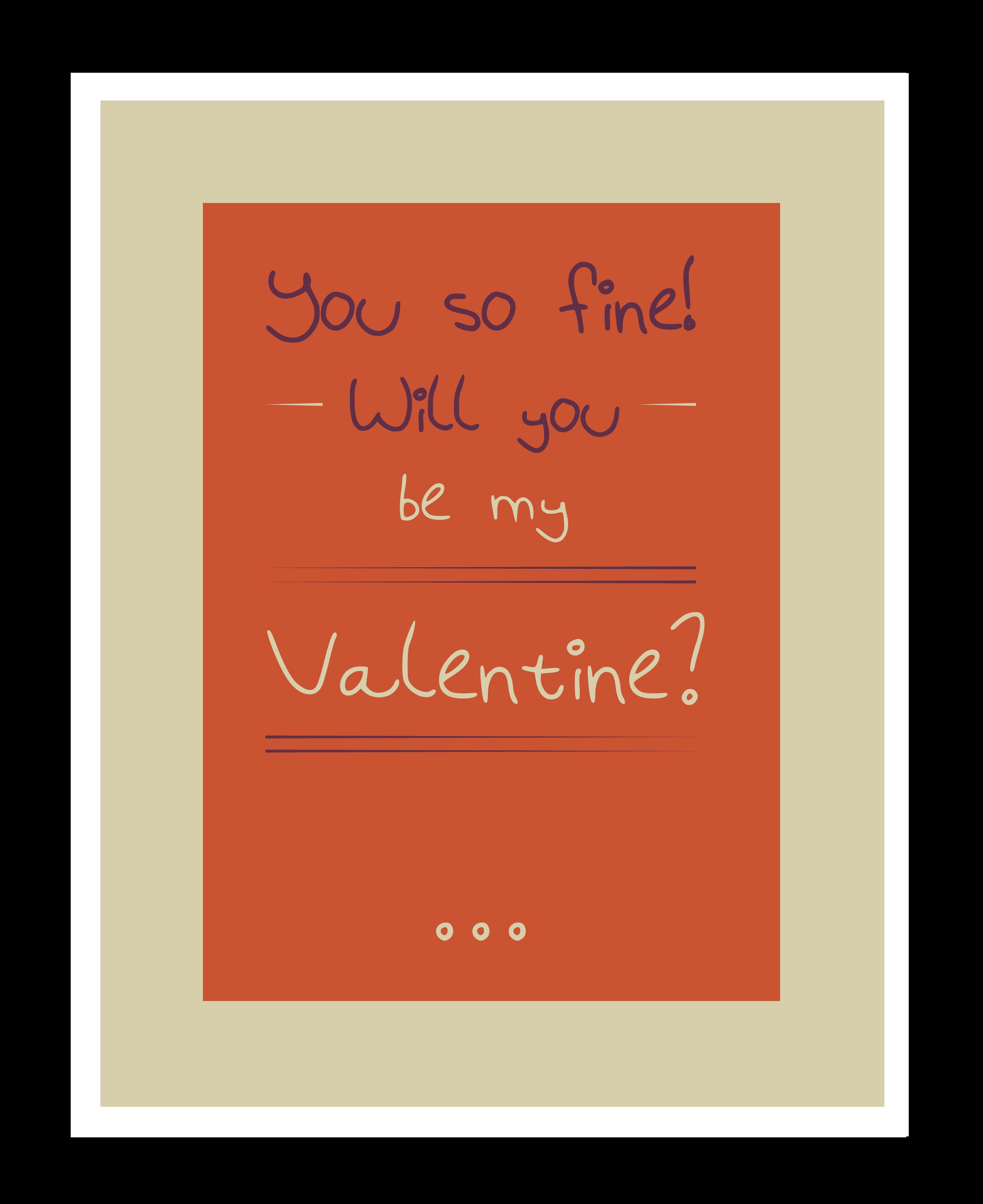 valentine's day student list