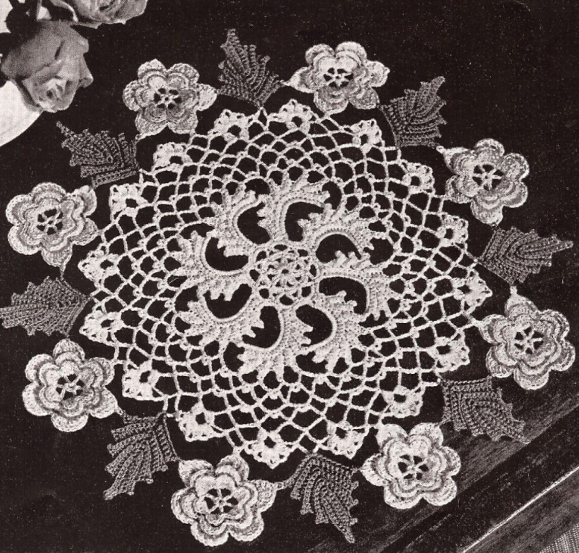 Doily Patterns Free Vintage Crochet - dinocro.info