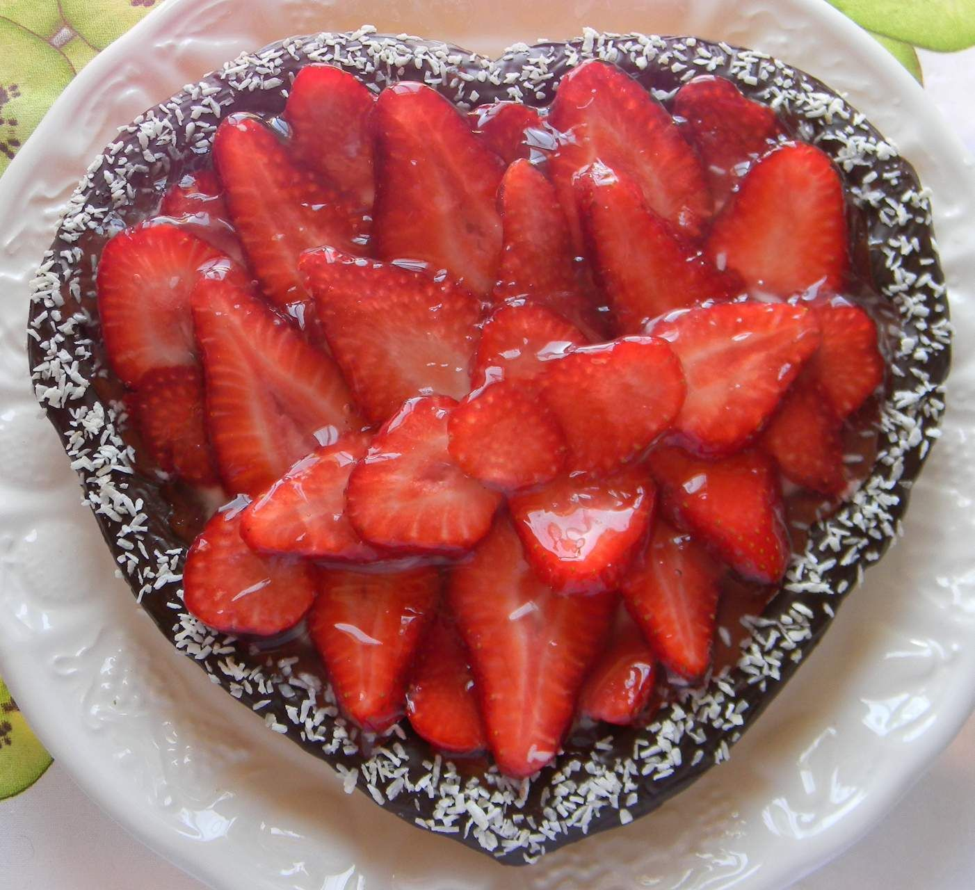 Strawberry and ricotta tart | Nothing but berries | Pinterest