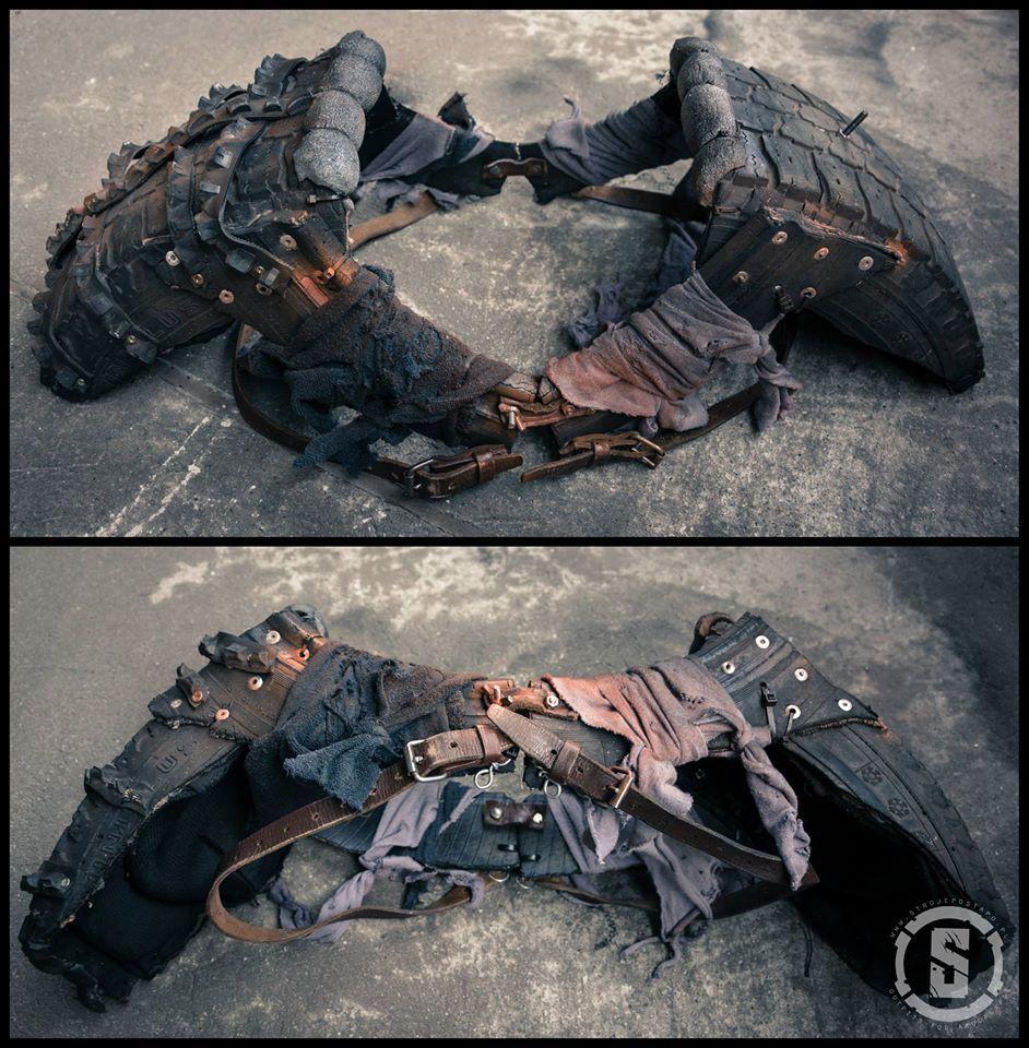 Постапокалиптическая броня своими руками