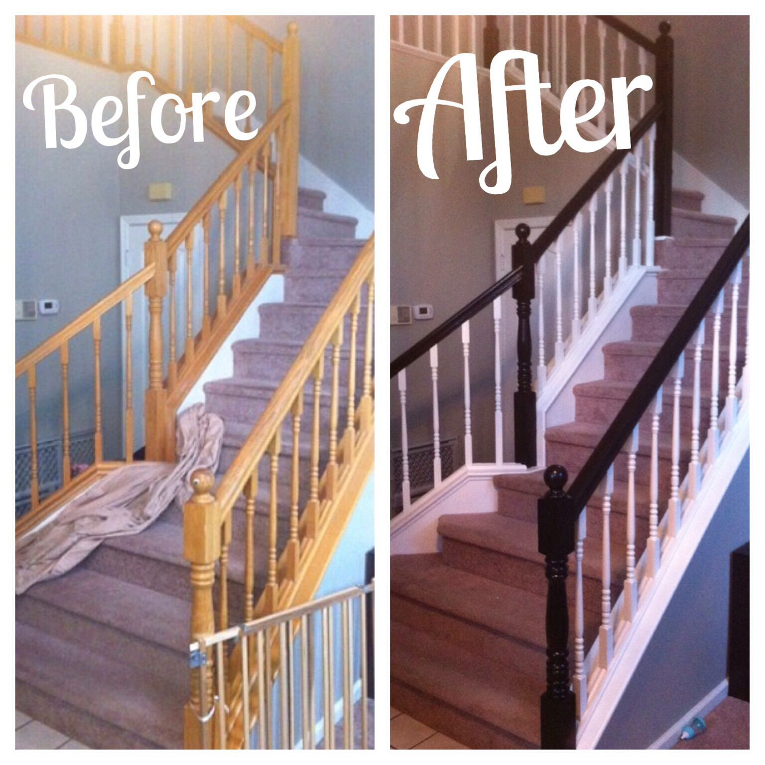 Best Painted Stair Rails Emerson S Home Pinterest 400 x 300