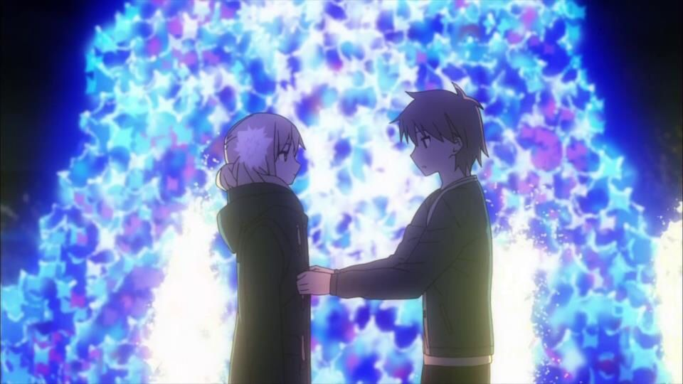 Mashiro and sorata on christmas eve anime sakurasou no pet na k