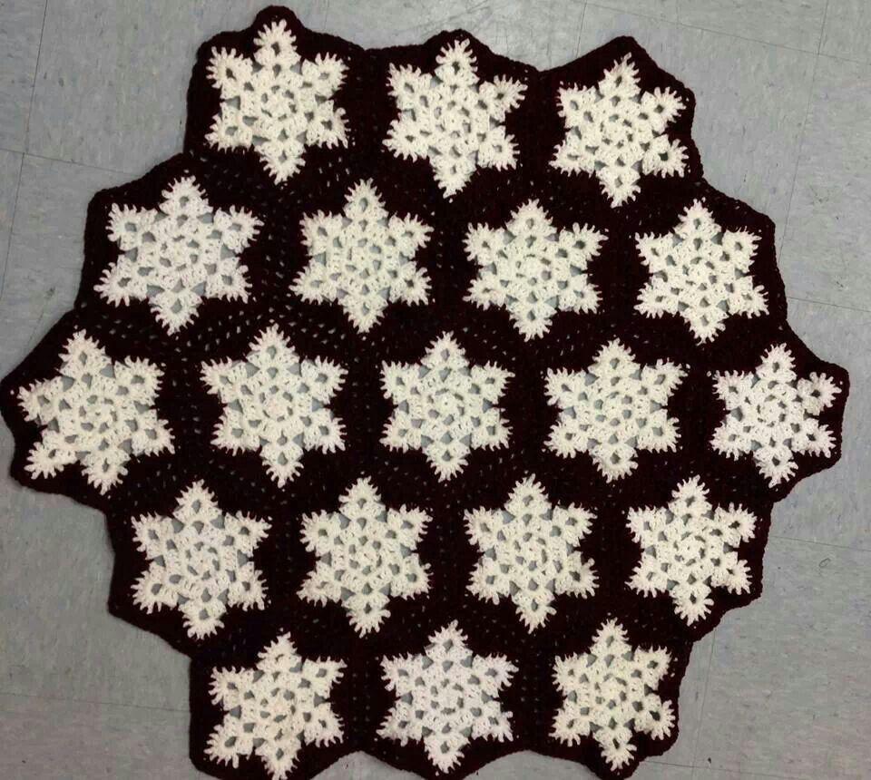 Crochet Pattern Snowflake Afghan : Snowflake Afghan crochet patterns Pinterest