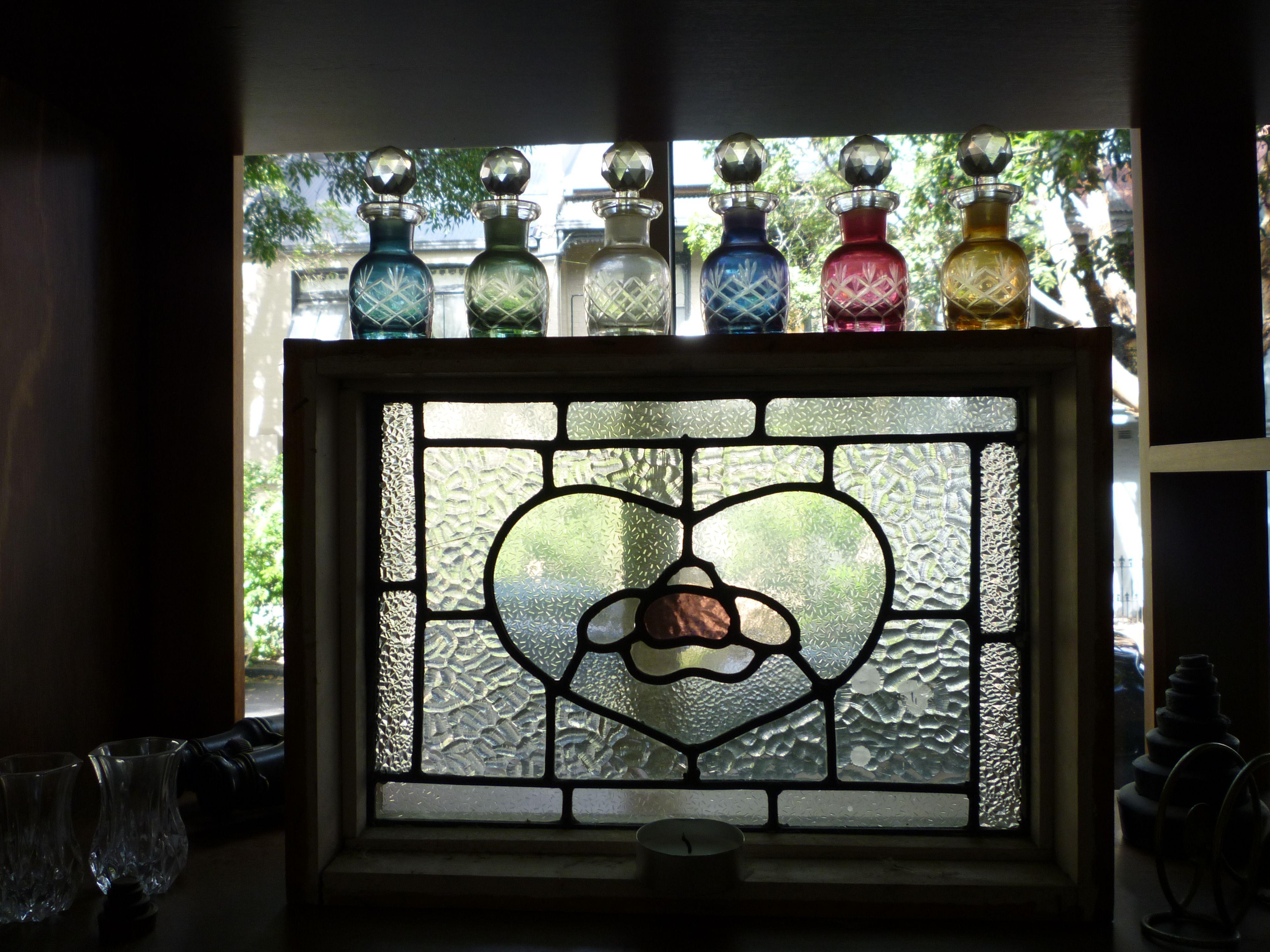 stained glass window frame my stuff