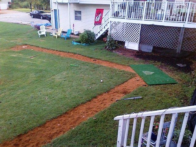 our backyard baseball field backyard ideas pinterest