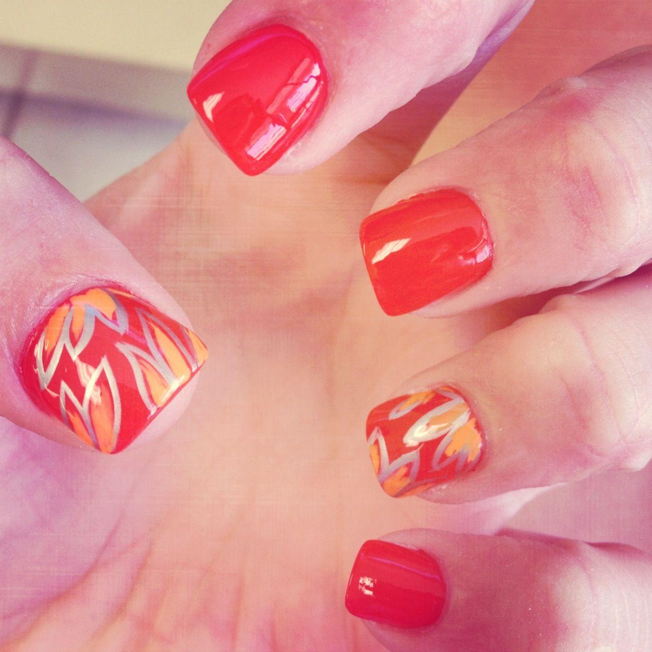 Cute Easy Fall Nail Designs: Cute Fall Nail Design