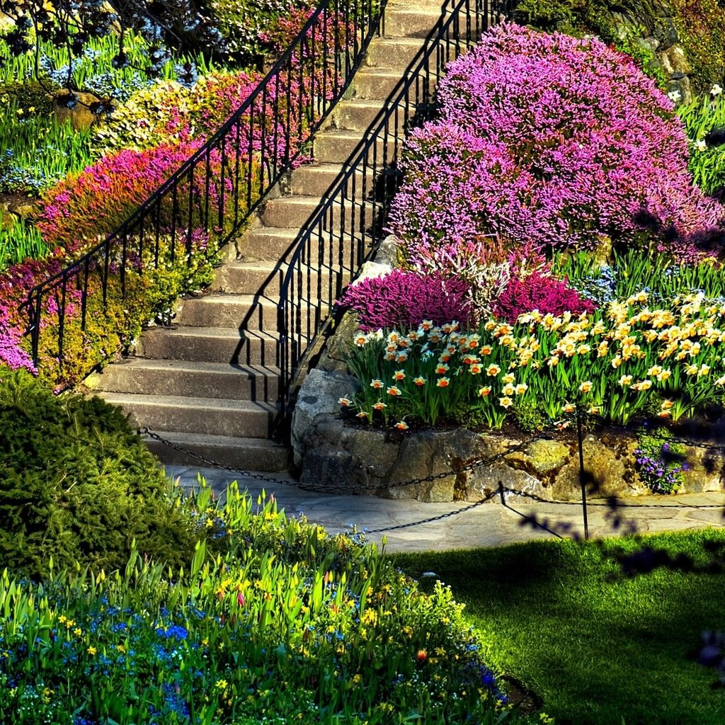 Amazing Flower Garden Outside Ideas Pinterest