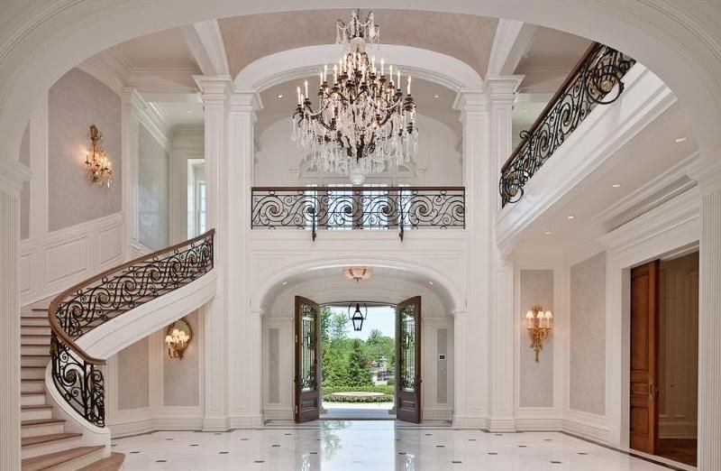 Grand Foyer And Staircase Staircases Foyers And Entry