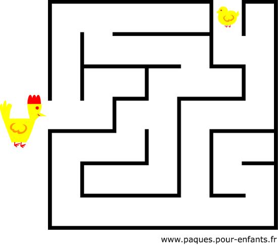 Jeu De Labyrinthe Jeux Vacances Imprimer Pinterest