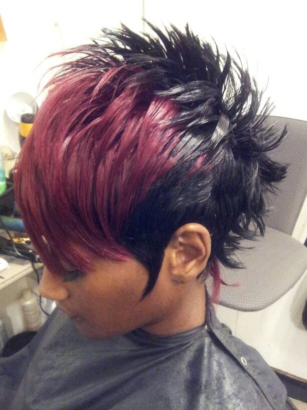 Pin Quick Weave Mohawk Hairstyles on Pinterest
