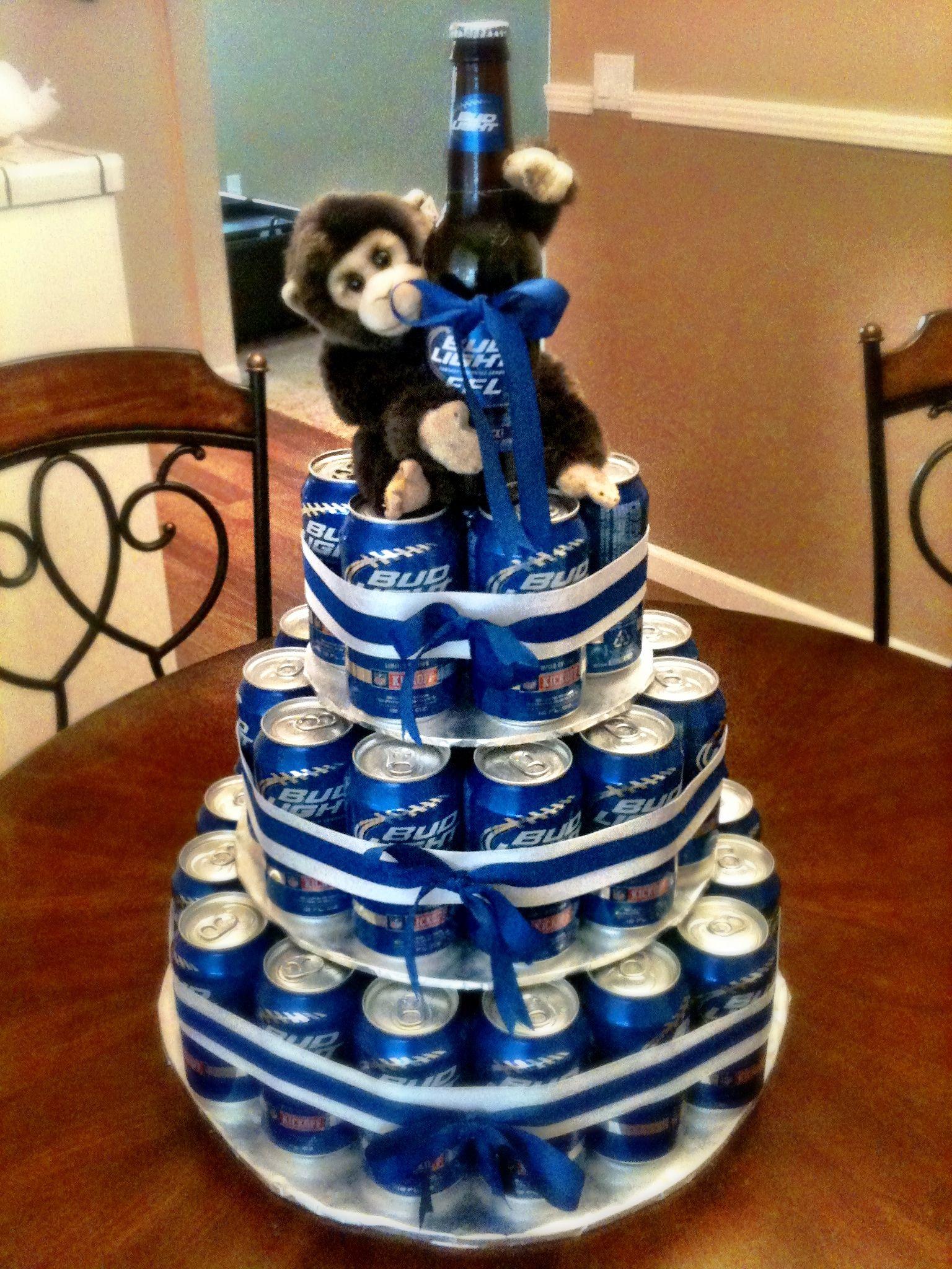 Beer Design Birthday Cake : Beer Cake :) For my man Pinterest
